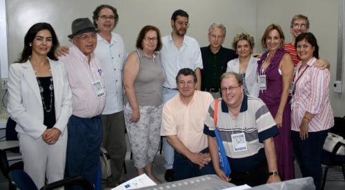 Fundadores da SOCICOM, em Natal, setembro de 2008